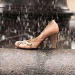 革靴が雨に濡れた場合の雨染み予防と早く乾かす方法は?お手入れは?